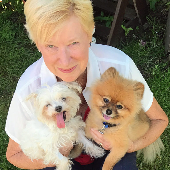 Norma and dogs